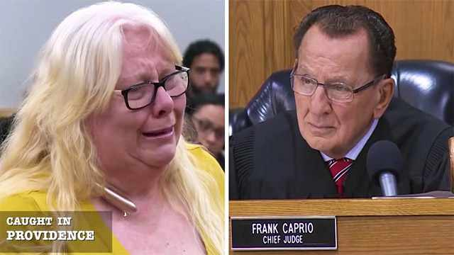 Kindhearted Judge Shows Compassion To Grieving Widow In The Courtroom