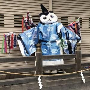 有鹿神社パンダ宮司