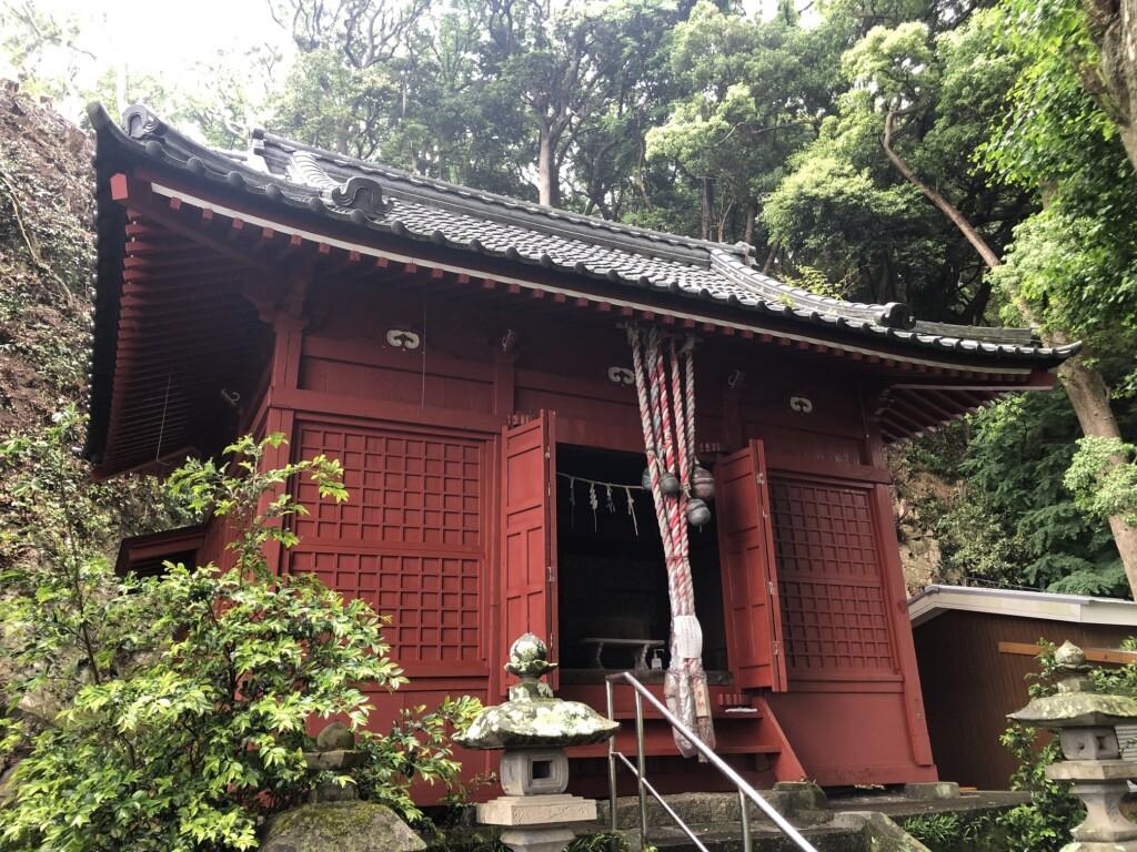 【神社】白髭神社<三浦七福神めぐり:五番 長安寿老人><カンカン石>