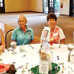 Left to right: Sue Meeks, Diane Dodd, Mary Jo Schupman and Roxanne May. Mary Jo and Roxanne placed first in Flight A.