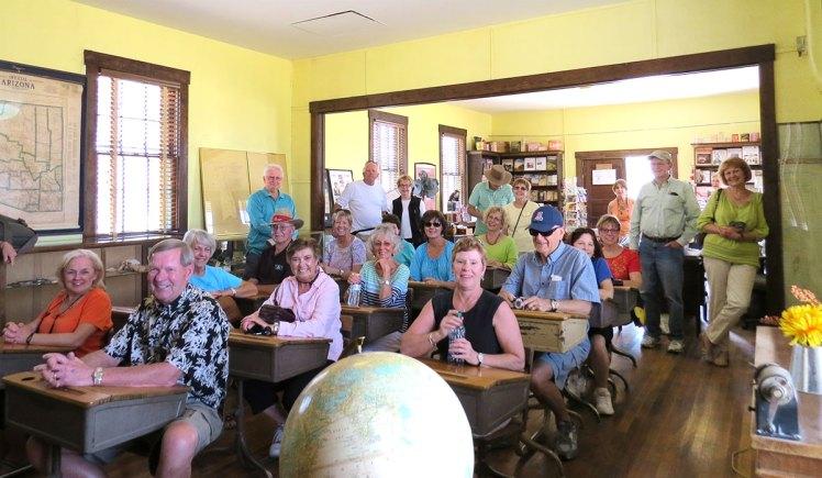 Fairbank Historic Site restored schoolhouse