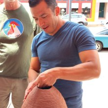 Diego Valles, 2015 Clay Festival lecturer