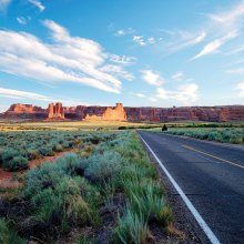 First Place: Jon Williams - On the Road in Arches