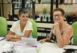Sue Ann Obremski and Kathy Guy