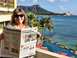 Cheryl and Richard Osburn enjoyed a relaxing early December holiday at the Sheraton Waikiki Resort.