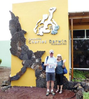 Ian Meldrum and Lorene Martin visited the Darwin Research Center on Santa Cruz Island in April.
