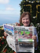 Cruising the Transatlantic to Portugal and Spain were Lois Owen and Richard Stebbans. The Crossing found its way with Lois to the Island of Madeira.