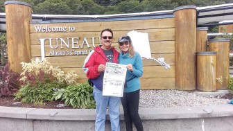 Congratulations to Steve and Kathy Brown who celebrated their 44th anniversary on an Alaskan cruise.