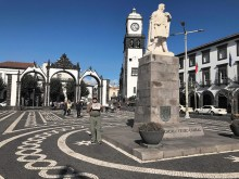 Bob and Patricia Sly visited Ponte Delgada on the Azores Island of Sao Miguel, Portugal.