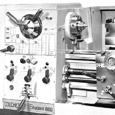 Colchester Manual Lathe