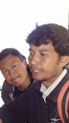 Former CA member Prem Tamang. We were told he has been working hard to bring relief to people in Rasuwa. He helped us coordinate everything. We also got a glimpse of the current CA member (Janardhan Dhakal), passing through Kalikasthan in a Prado.