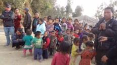 Children at Sankhule IDP