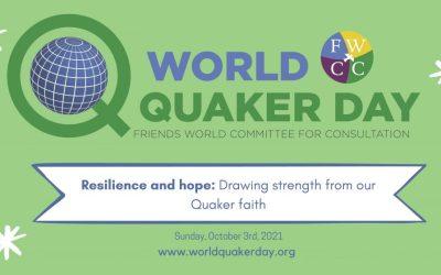 Sep 21 & 23, 2021 Conversation Circles – RE for World Quaker Day