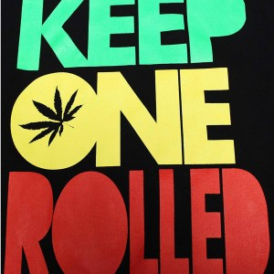 Keep One Rolled T-Shirt Qualah.com