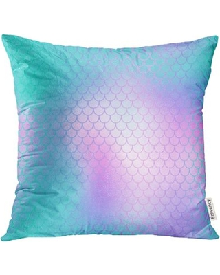usart-blue-pink-fish-skin-with-scale-mermaid-vivid-gradient-abstract-blurry-shiny-pillow-case-pillow-cover-20x20-inch-throw-pillow-covers
