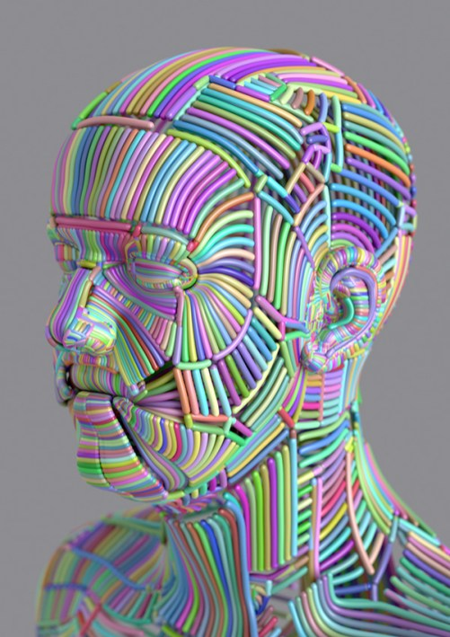 Typical DMT-like visual