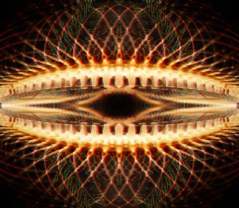 Typical 5-MeO-DMT-like visual