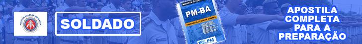Apostilas para o concurso da PM-BA