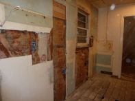 Plumbing, electrical, framing, insulation...done.