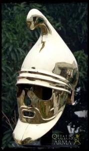 Casque thrace à masque