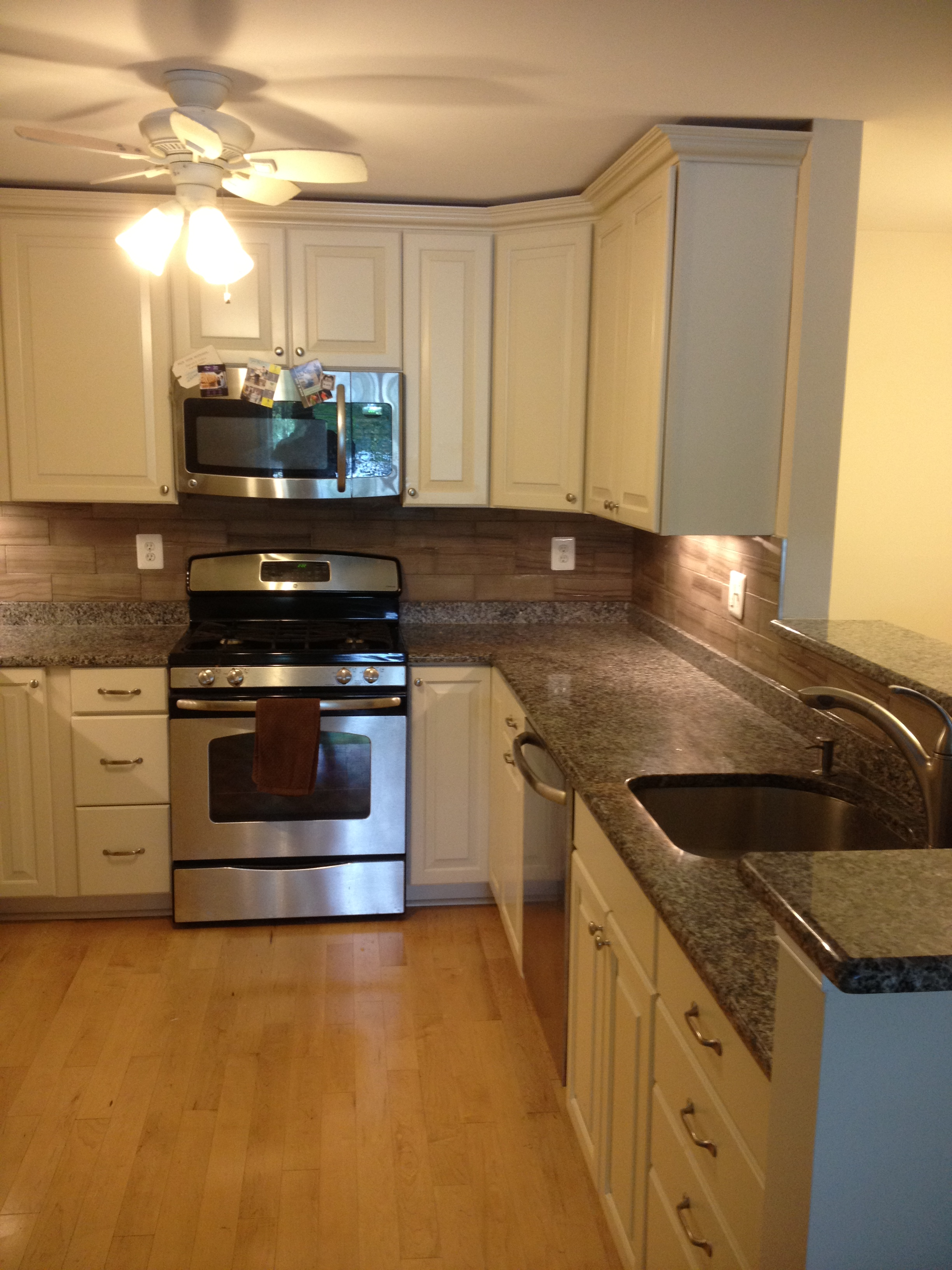 Clean, natural Kitchen remodel in Bowie MD