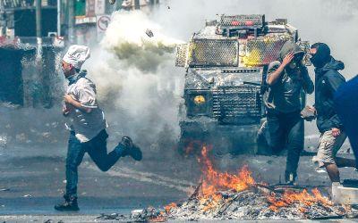 Opptøyene i Chile: – Vi er tilbake i diktaturet
