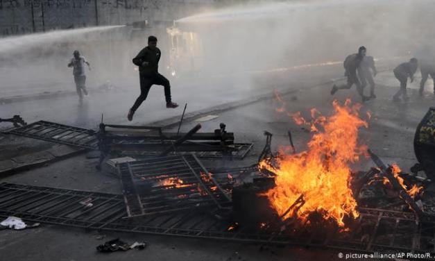 Chile calcula custo de protestos e cria fundos para recuperar infraestrutura
