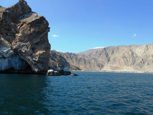 Di teluk Persia, tingkat salinitas air yang agak tinggi