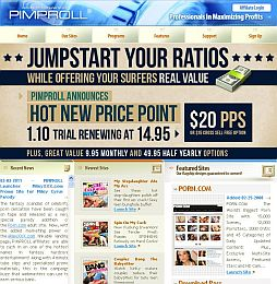 Pimproll Adult Affiliate Program