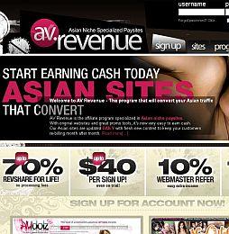 AVRevenue Adult Affiliate Program