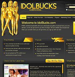 IdolBucks Adult Affiliate Program