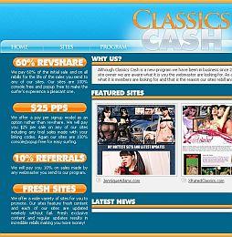 Classics Cash Adult Affiliate Program