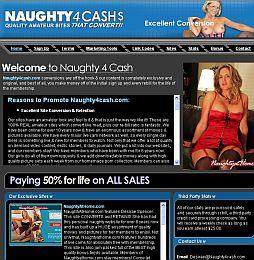 Naughty4Cash Adult Affiliate Program