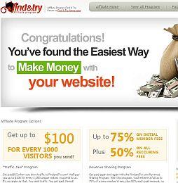 FindandTry Adult Affiliate Program