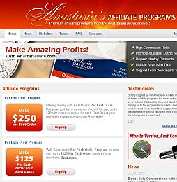 Anastasias Affiliate Adult Affiliate Program