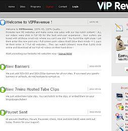 VIP Revenue Adult Affiliate Program