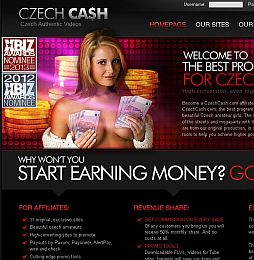 CzechCash Adult Affiliate Program