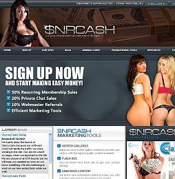 SNR Cash Adult Affiliate Program