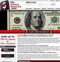 The Dating Network Adult Affiliate Program