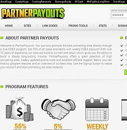 Partner Payouts Adult Affiliate Program