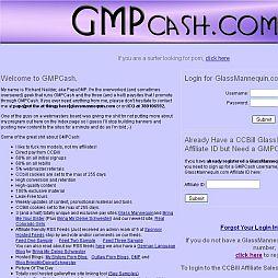 GMP Cash Adult Affiliate Program