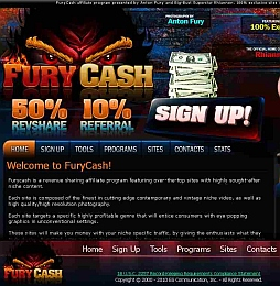 Fury Cash Adult Affiliate Program