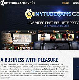 MyTubeCams Cash Adult Affiliate Program