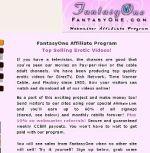 Fantasy One Cash Adult Affiliate Program