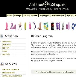 AffiliationSexShop Adult Affiliate Program