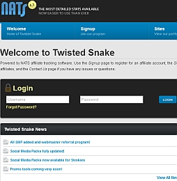 Twisted Snake Adult Affiliate Program
