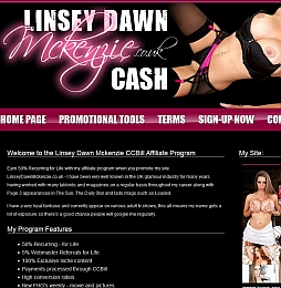 LinseyDawnMcKenzie Adult Affiliate Program