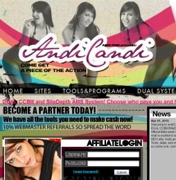 AndiCandi adult affiliate program