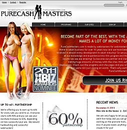 PureCashMasters Adult Affiliate Program