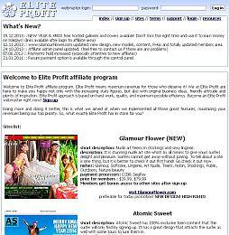 Elite Profit Adult Affiliate Program